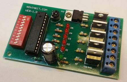 فلاشر 5 کانال تابلو ثابت برنامه دار LED